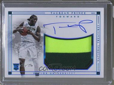2016 Panini National Treasures Collegiate - [Base] - Blue #131 - Taurean Prince /1