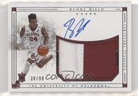 College Material Signatures - Buddy Hield #/99