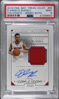 Material Signatures - D'Angelo Russell [PSA9MINT] #/25