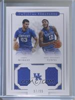 Jamal Murray, Karl-Anthony Towns #/99
