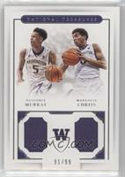 Dejounte Murray, Marquese Chriss #/99