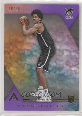 2017-18 Panini Ascension - [Base] - Purple #129.1 - Rookie Base - Jarrett Allen /50