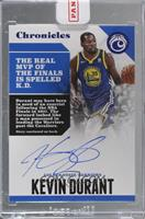 Kevin Durant [Uncirculated] #/75