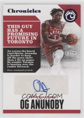 2017-18 Panini Chronicles - Autographs - Purple #CA-OGA - OG Anunoby /49