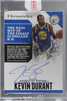Kevin Durant [Uncirculated] #/99