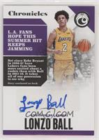 Lonzo Ball #/199