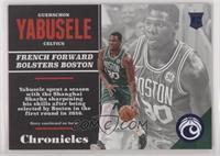 Rookies - Guerschon Yabusele #/199