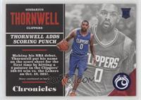 Rookies - Sindarius Thornwell #/199