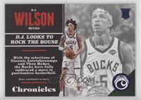 Rookies - D.J. Wilson #/199
