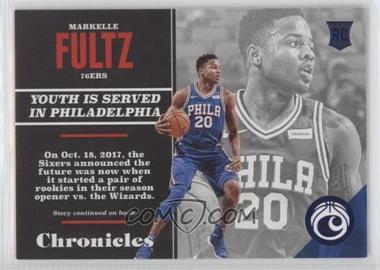 2017-18 Panini Chronicles - [Base] - Blue #149 - Rookies - Markelle Fultz /199