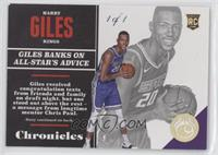 Rookies - Harry Giles #/1