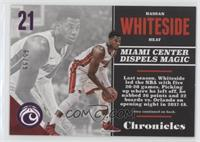 Hassan Whiteside [Noted] #/99