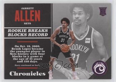 2017-18 Panini Chronicles - [Base] - Pink #135 - Rookies - Jarrett Allen /99