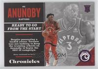 Rookies - OG Anunoby #/99