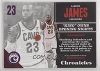 LeBron James #/99