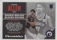 Rookies - Jarrett Allen #/149