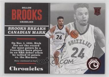 2017-18 Panini Chronicles - [Base] - Red #103 - Rookies - Dillon Brooks /299
