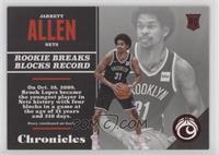 Rookies - Jarrett Allen #/299