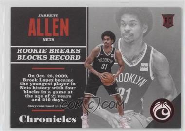 2017-18 Panini Chronicles - [Base] - Red #135 - Rookies - Jarrett Allen /299