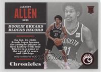 Rookies - Jarrett Allen /299