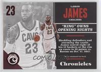 LeBron James #/299