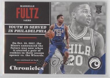 2017-18 Panini Chronicles - [Base] #149 - Rookies - Markelle Fultz