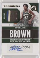 Sterling Brown #/10