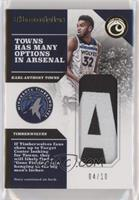 Karl-Anthony Towns /10