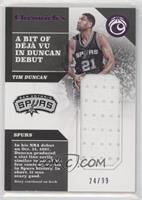 Tim Duncan #/99