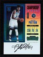 Rookie - Justin Patton [Noted] #1/1