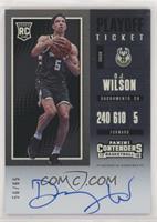 Rookie - D.J. Wilson #/65
