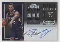 Rookie Horizontal Variation - Frank Jackson #/35