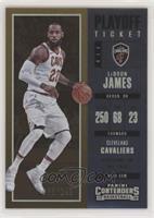 Season - LeBron James #/249