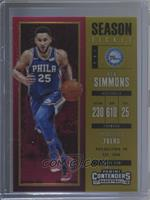 Season - Ben Simmons #/10