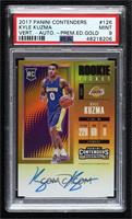 Rookie - Kyle Kuzma [PSA9MINT] #/10