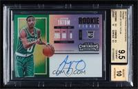 Rookie Horizontal Variation - Jayson Tatum [BGS 9.5 GEM MINT]