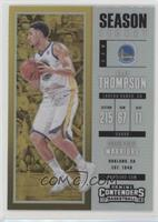 Season Ticket - Klay Thompson