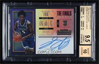 Rookie Horizontal Variation - De'Aaron Fox [BGS 9.5 GEM MINT] #/…