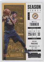 Season Ticket - Myles Turner