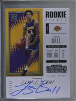 Rookie - Lonzo Ball #31/125