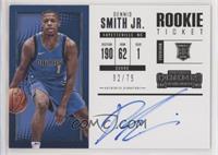 Rookie Horizontal Variation - Dennis Smith Jr. #/75