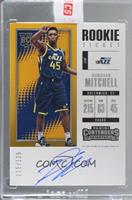 Rookie - Donovan Mitchell [Uncirculated] #/125