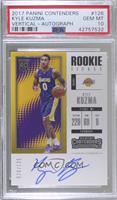 Rookie - Kyle Kuzma [PSA10GEMMT] #/125