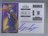 Rookie Horizontal Variation - Kyle Kuzma /75