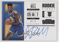 Rookie Horizontal Variation - Jordan Bell /75