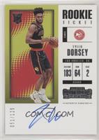 Rookie Variation - Tyler Dorsey #/125