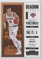 Season Ticket - Kristaps Porzingis
