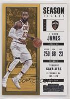 Season Ticket - LeBron James