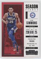 Season - Ben Simmons