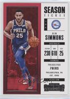 Season Ticket - Ben Simmons